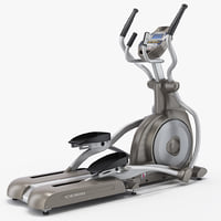 professional elliptical trainer spirit 3d max
