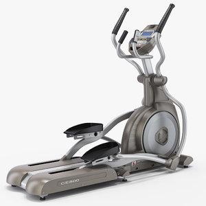 3d professional elliptical trainer spirit
