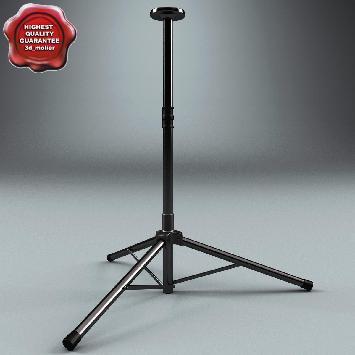 speaker stand 3d model