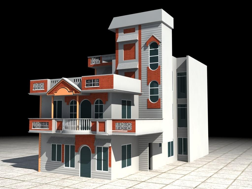 maya villa building