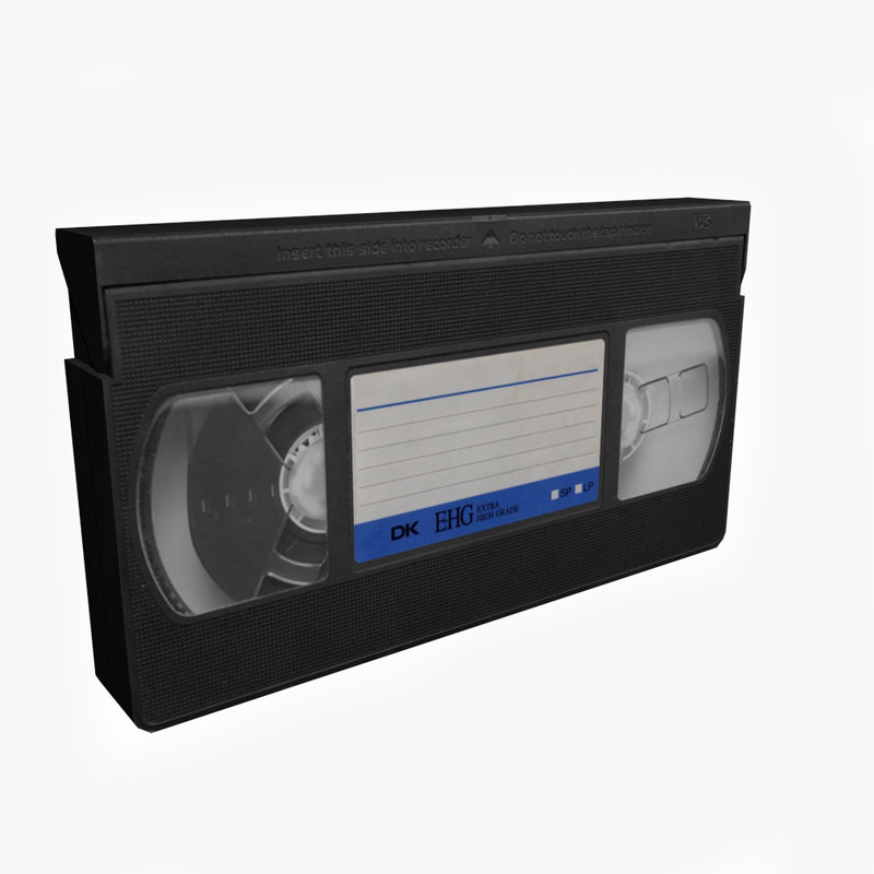 3ds max vhs tape