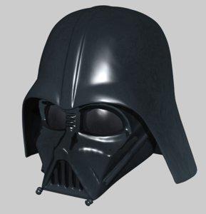 mask darth vader 3ds