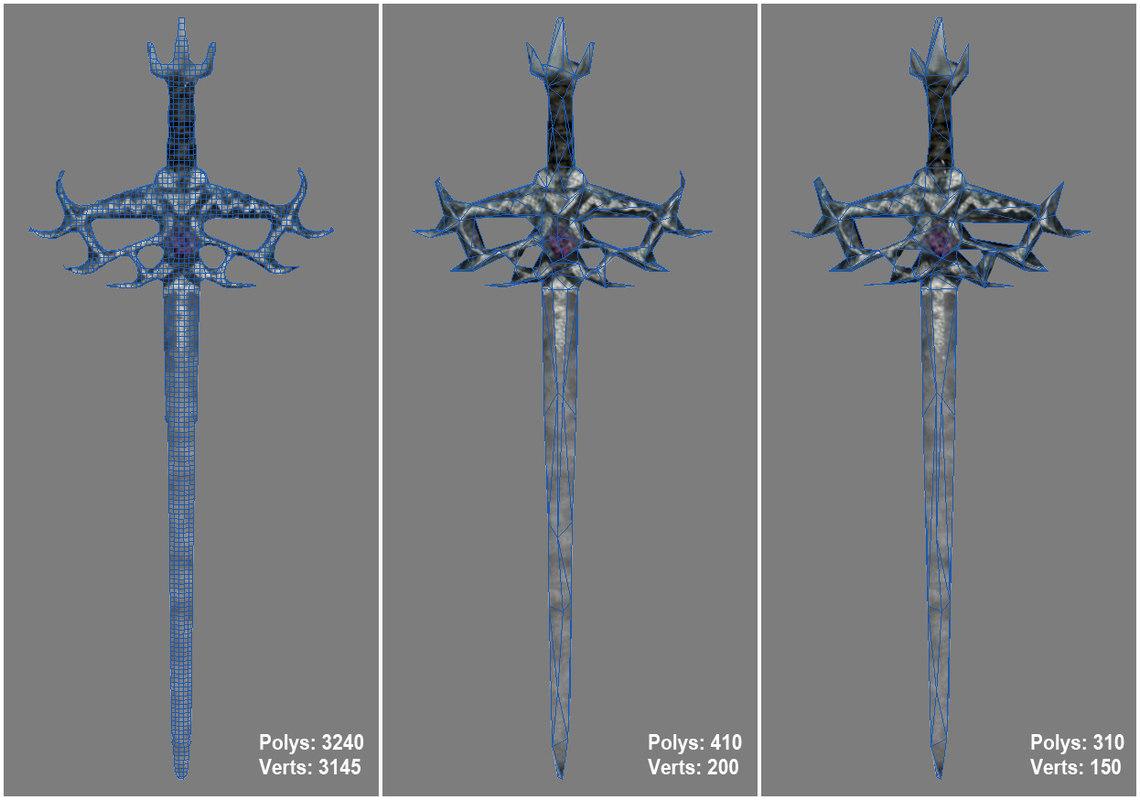 3d model elder sword 2012