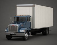 Peterbilt 337 box truck