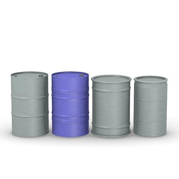 3ds max barrels