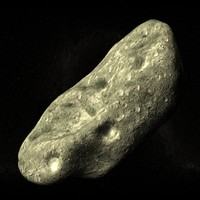 Asteroid high poly