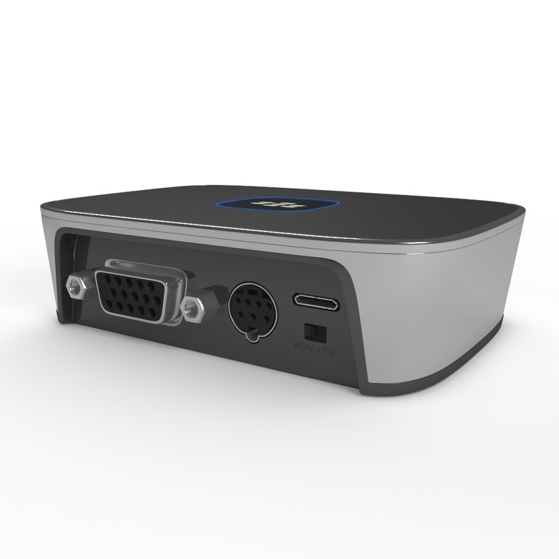 3d max blackberry presenter