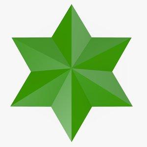 3ds max cartoon star