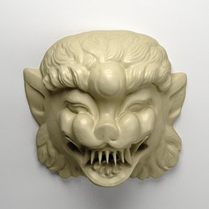 obj indonesian guardian demon
