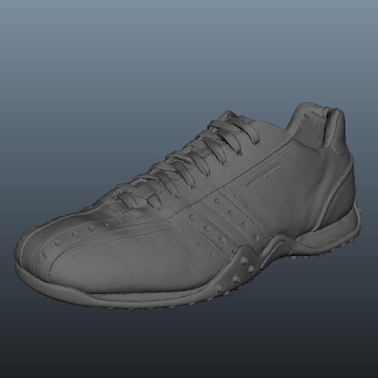 scan skecher sneaker shoe 3d obj