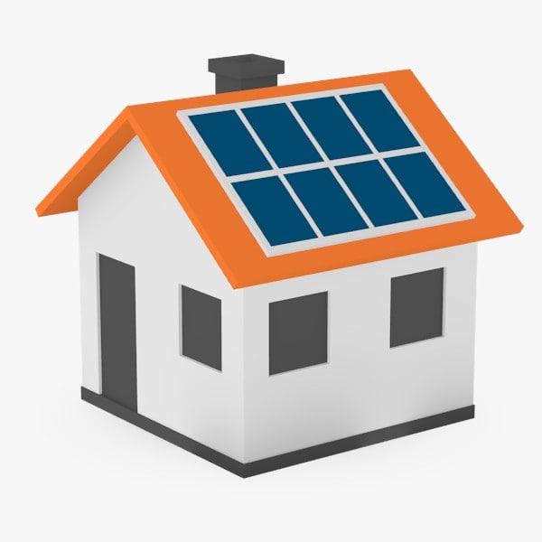Solar model house