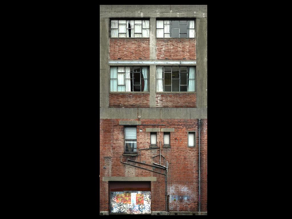 old building 3d 3ds