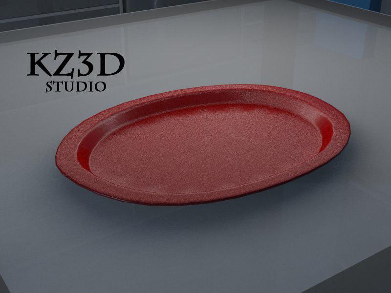 3d model red t