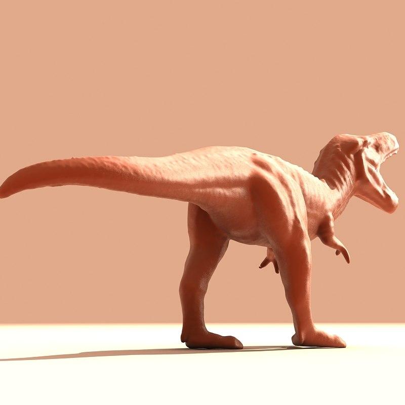 tyrannosaurus t rex 3d model