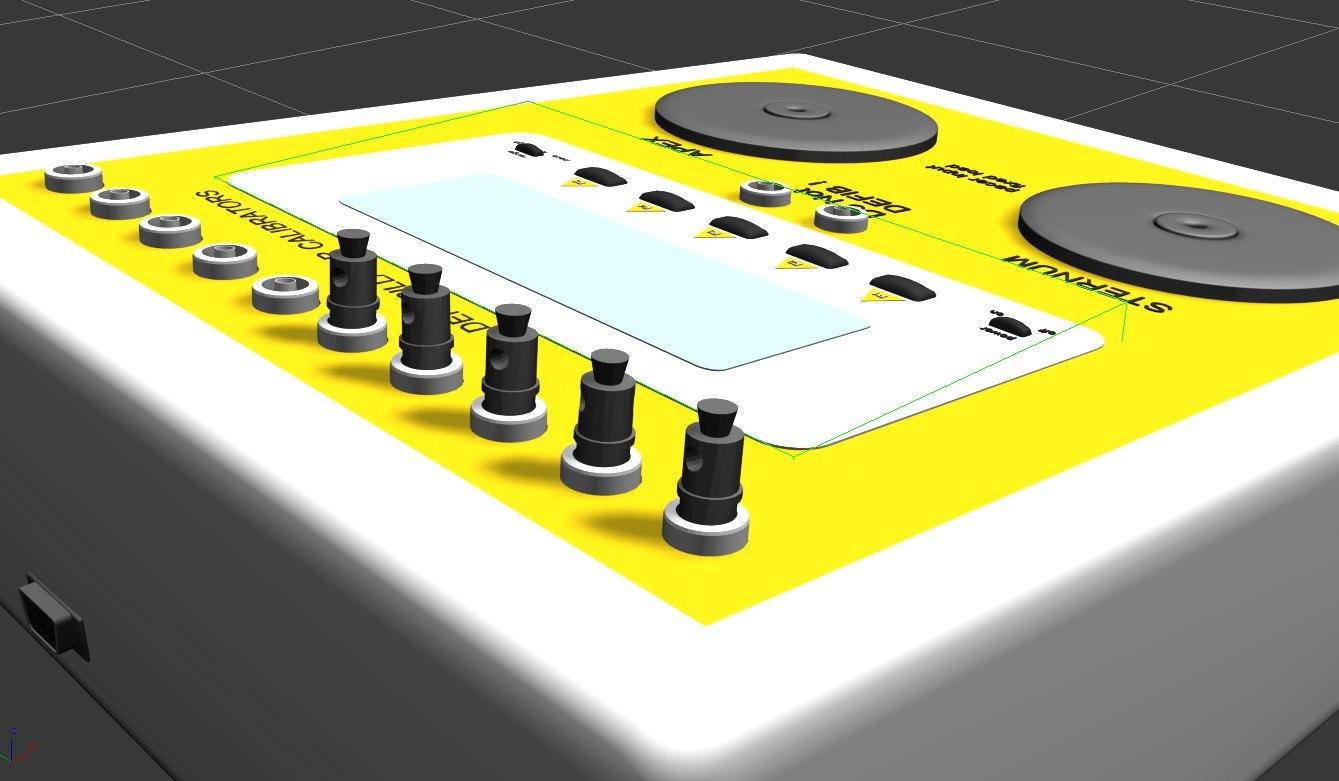 defibrillator calibrators 3d model