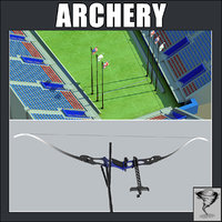 3d ma archery recurved bow
