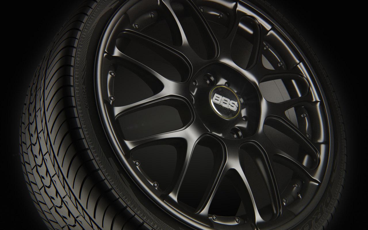 3ds wheel rim tire