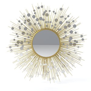 3d model baker constellation mirror