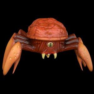 3dsmax boss monster crab