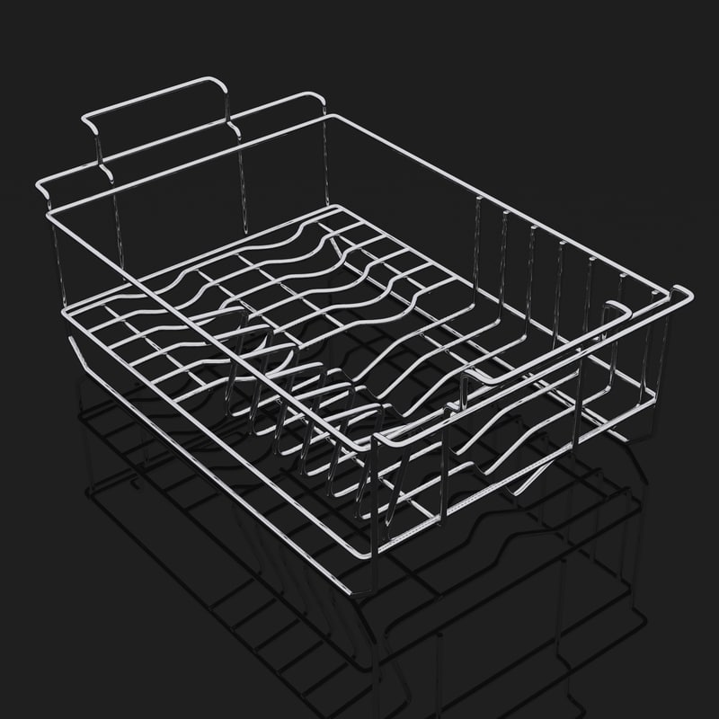 3d model of basket sink