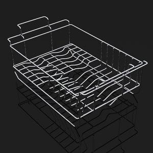 3d model of basket sink