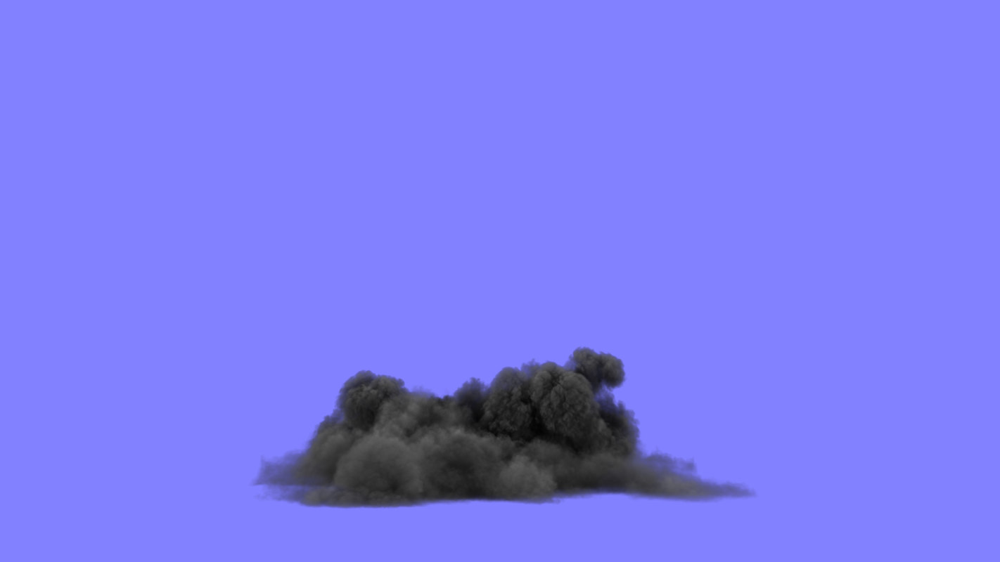 3d max heavy smoke simulations