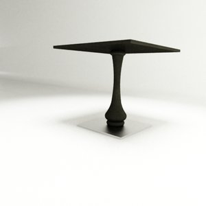 flash table ziru 3d model