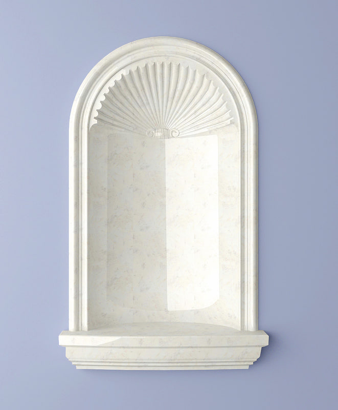 recessed jefferson niche 3d max