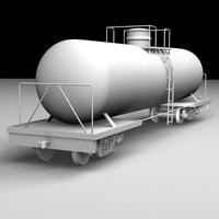 Railroad Tanker Car