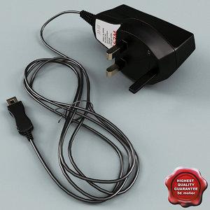 3d model charger modelled
