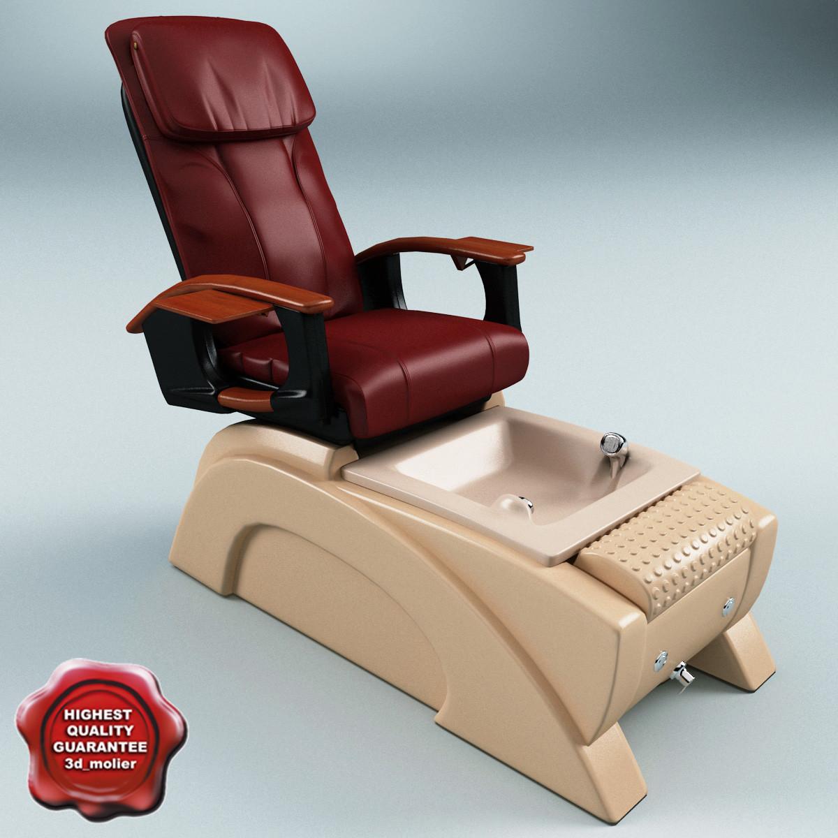 c4d pedicure chair bellini