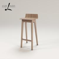 morph stool obj
