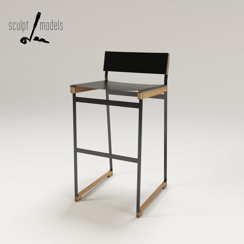 3ds max token stool
