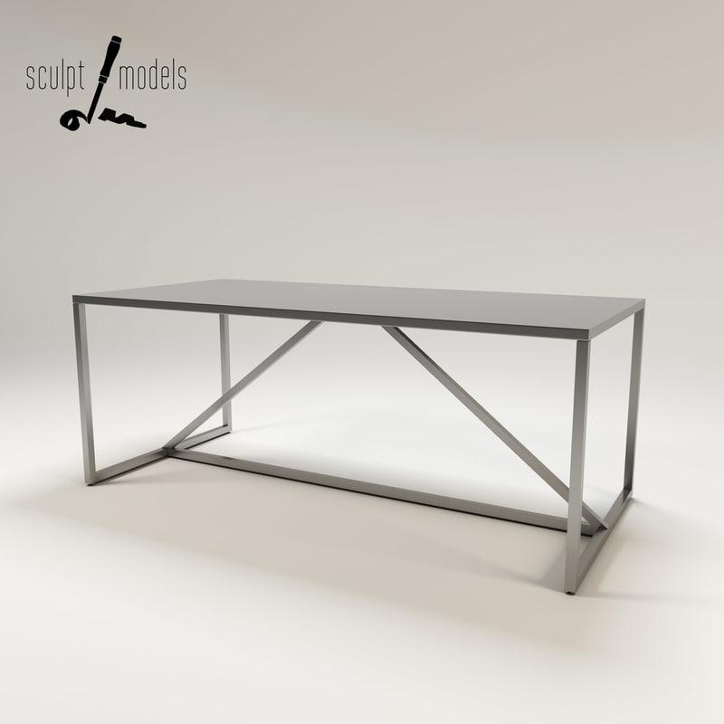 3d strut table