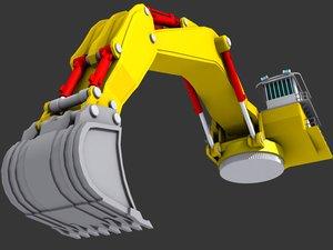 3d model backacter 1100 -