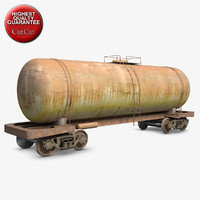 wagon cistern 3d model