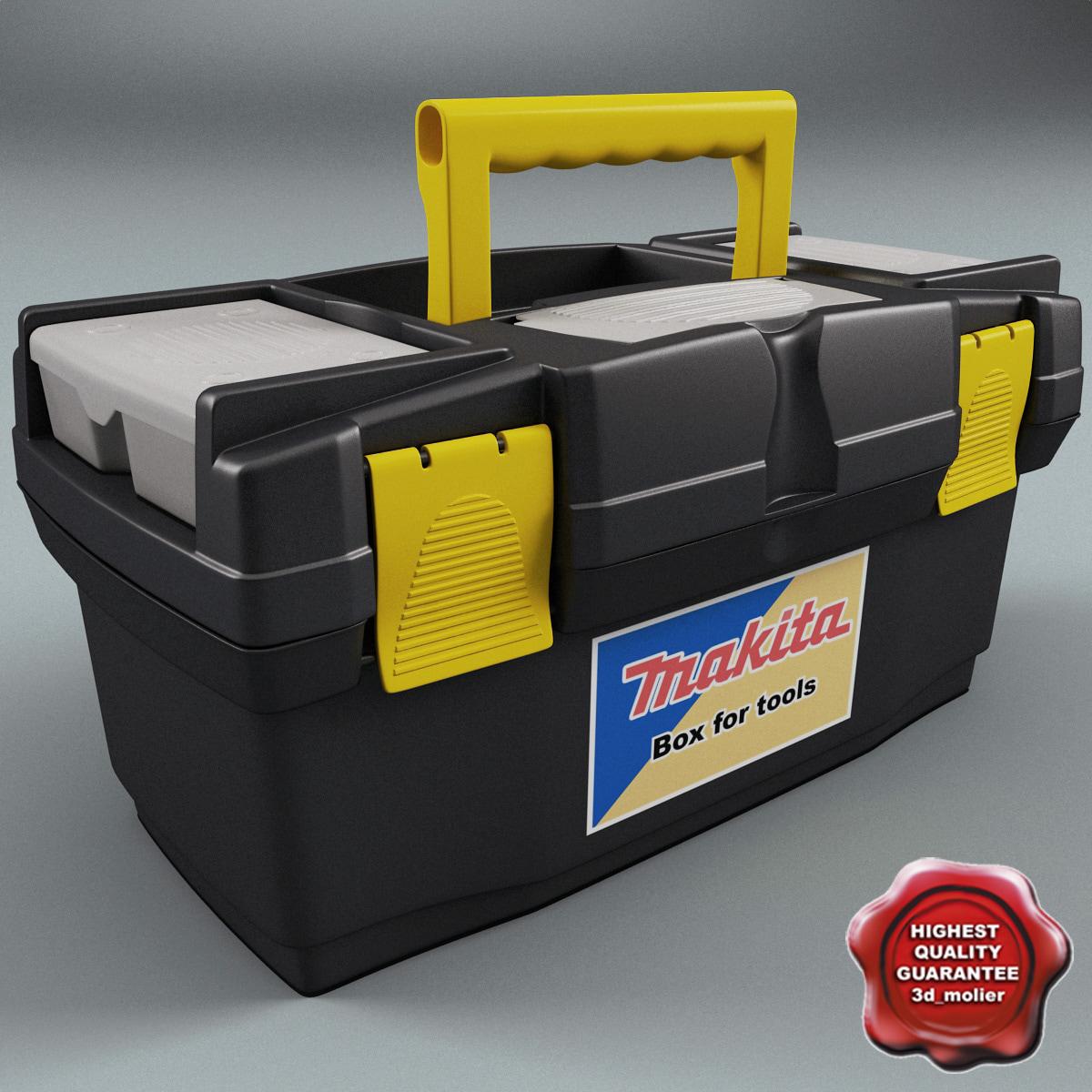 3d model tool box v3