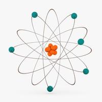 3d atom model