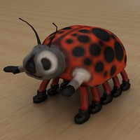 Beetle low poly