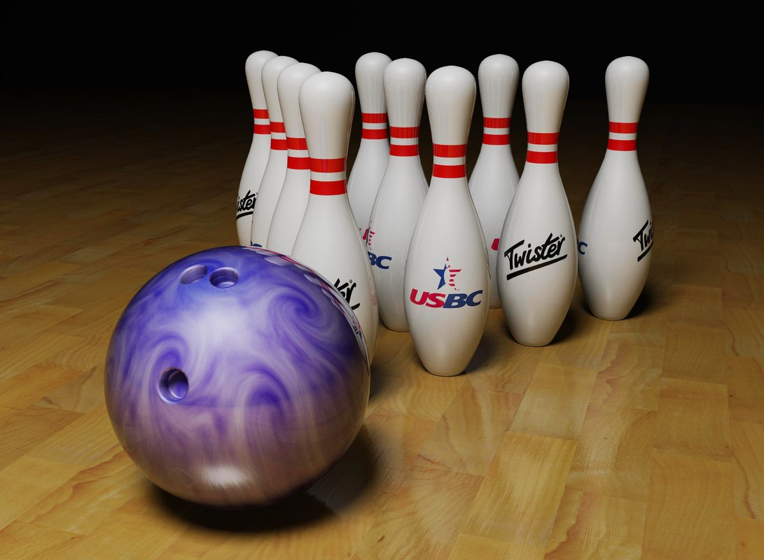 dxf bowling ball pins