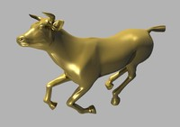 3d model of horse cow