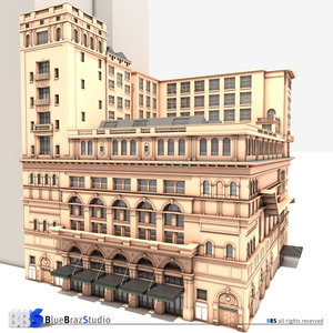 3d model carnegie hall