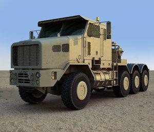 3d het m1070a1 military truck