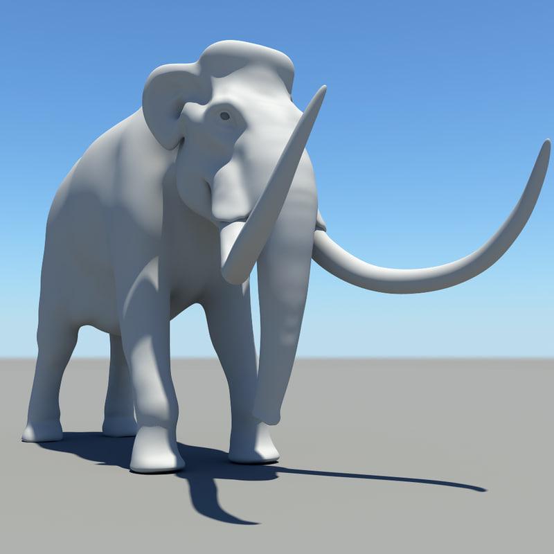 maya mammoth elephant