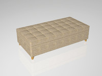 OTTOMAN QUILTED