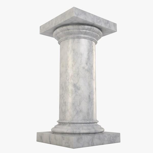 lightwave marble column