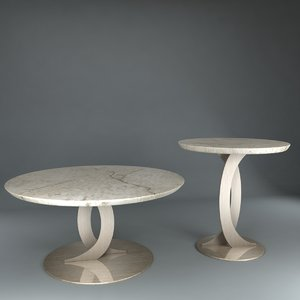 table angelo cappellini ludmilla 3d model