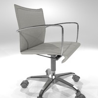 3d task chair office