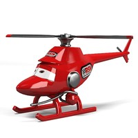 3d toy chopper helicopter model