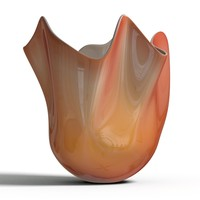 3d model venini fazzoletto vase